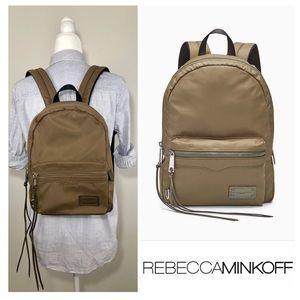 NEW🌟REBECCA MINKOFF Medium Nylon Backpack, Khaki